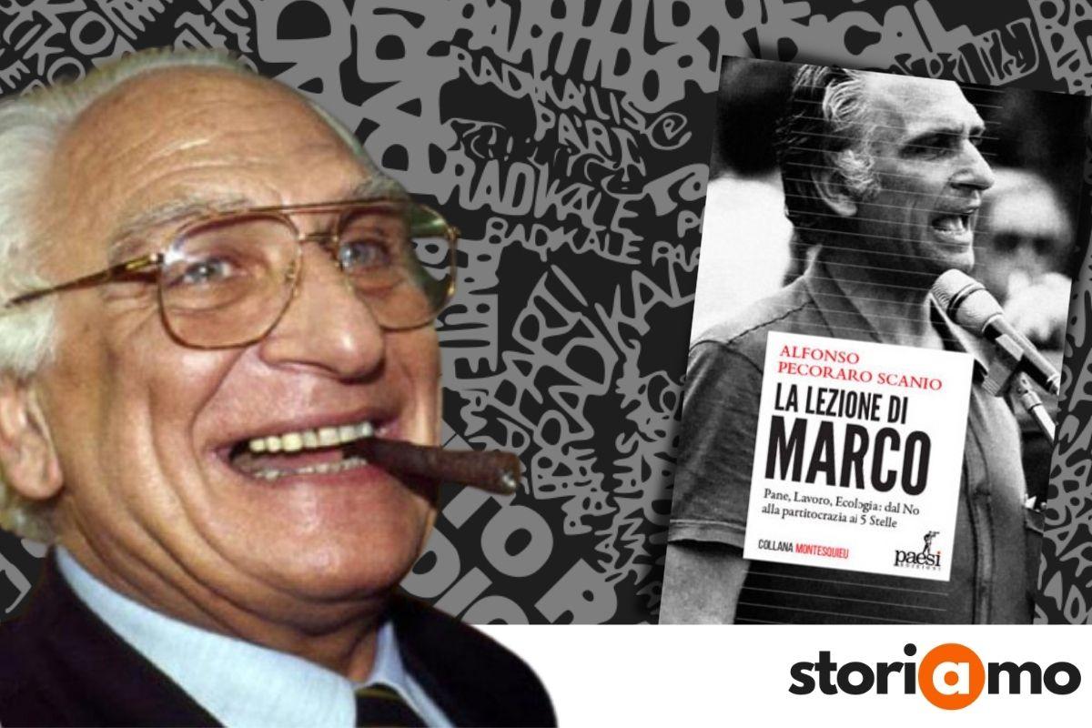 La lezione di Marco, Alfonso Pecoraro Scanio