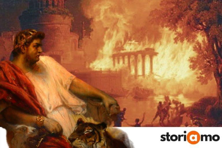 Roma brucia. L'incendio del 64 d.C. e il ruolo di Nerone