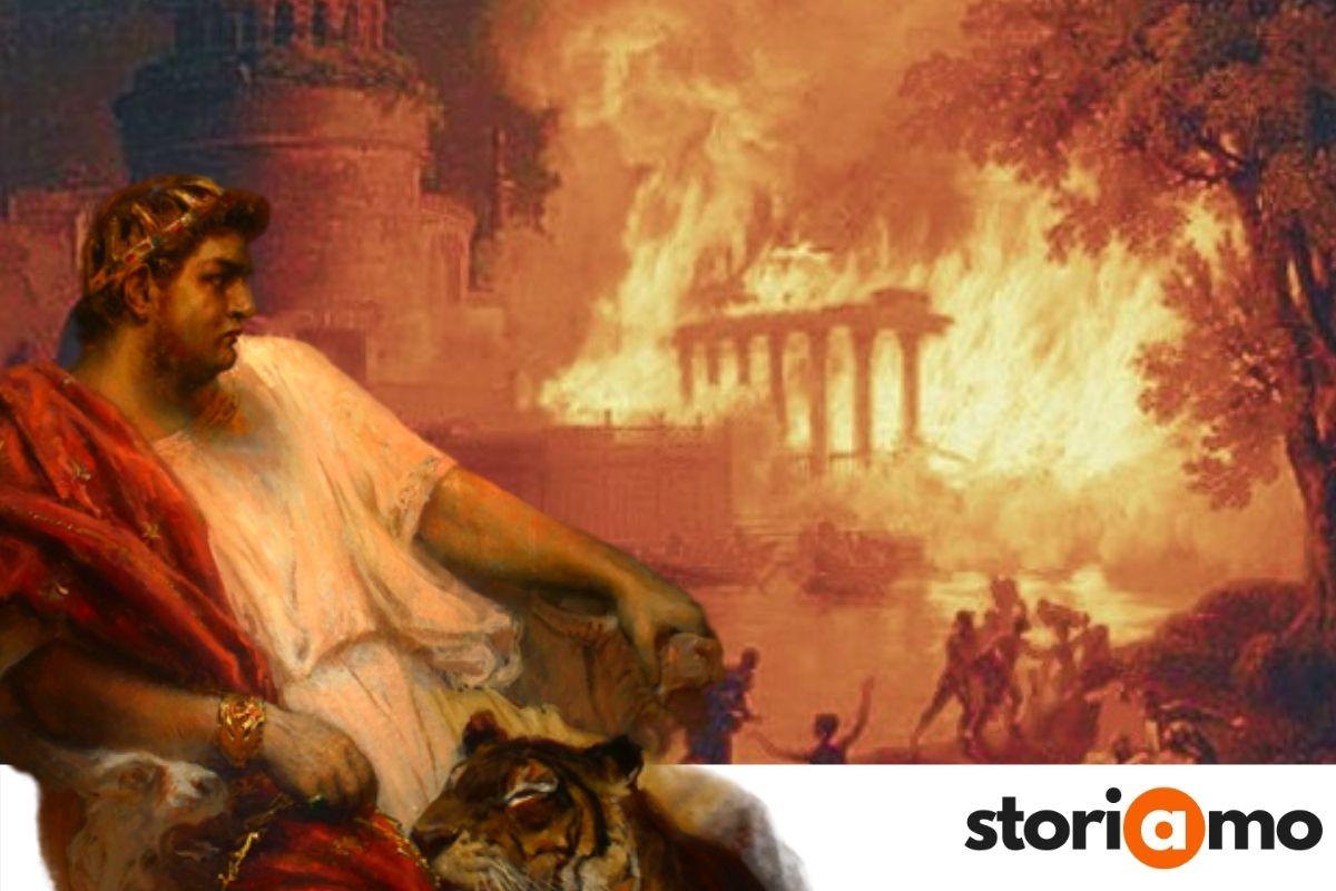 Nerone e l'incendio di Roma 64 dc