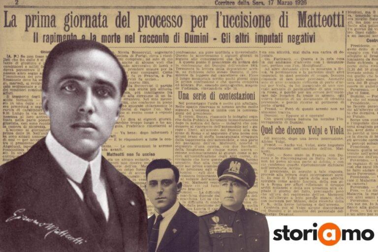 Il processo Matteotti, anatomia di una farsa