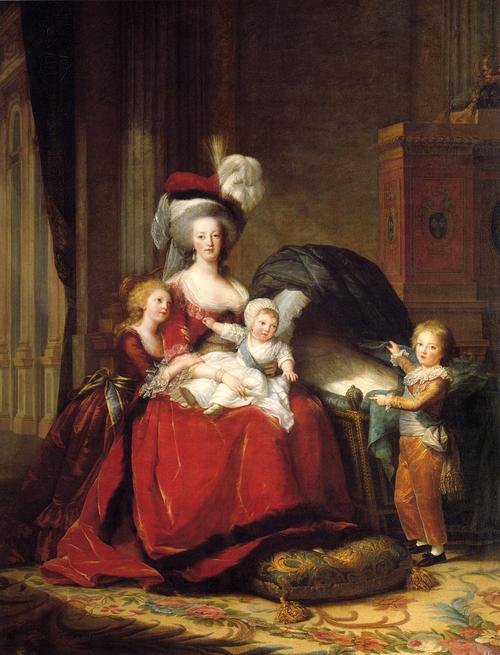 Maria Antonietta e i suoi figli, Élisabeth Louise Vigée Le Brun
