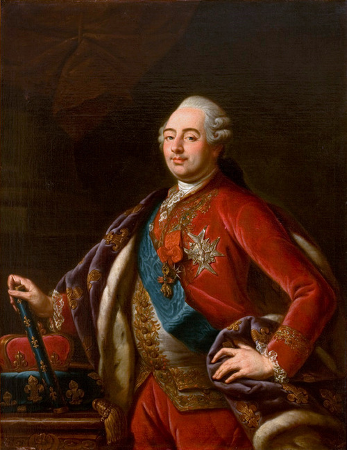 Luigi XVI, ritratto di Antoine-François Callet