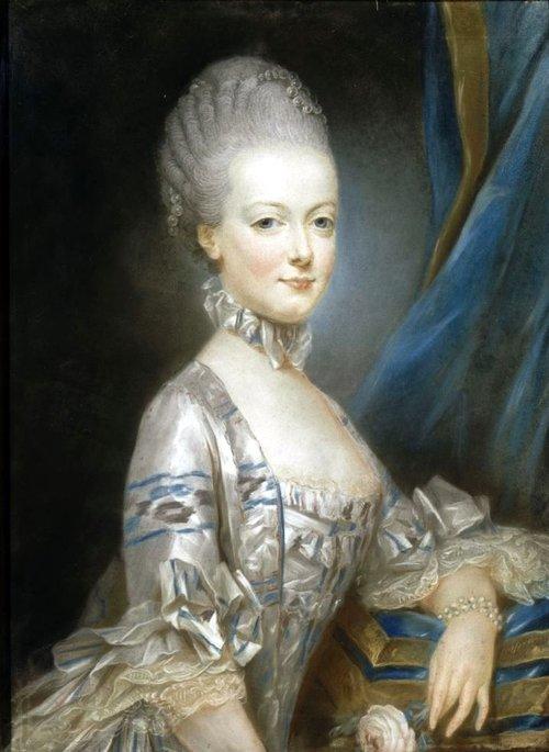 Maria Antonietta all'età di 13 anni, ritratto di Joseph Ducreux