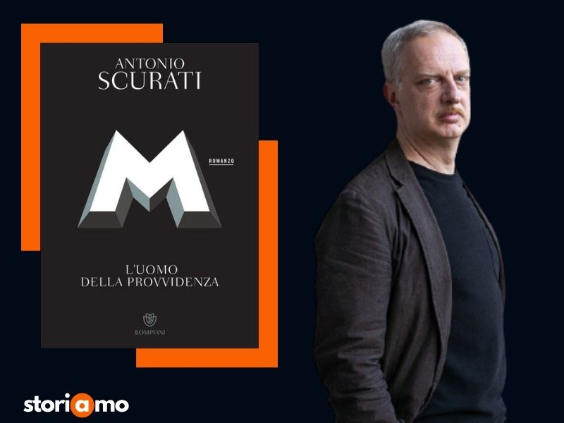 Antonio Scurati autore di M l'uomo della provvidenza
