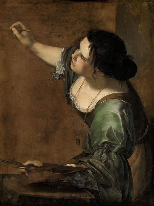 Autoritratto come allegoria della Pittura, Artemisia Gentileschi
