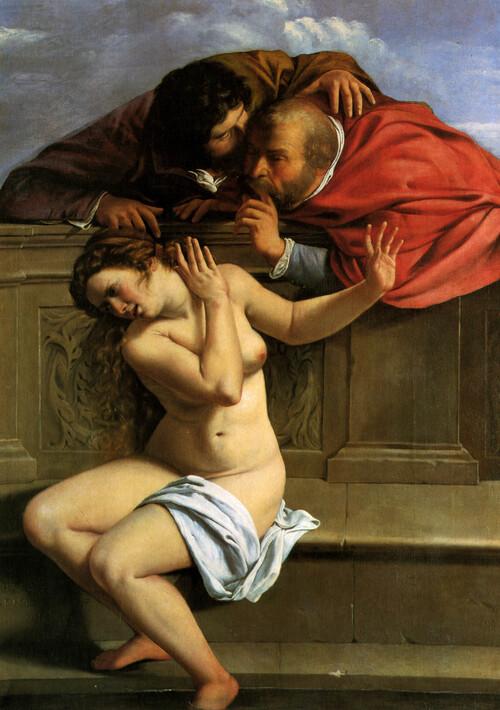 Susanna e i vecchioni, Artemisia Gentileschi