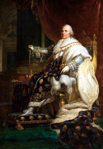 Luigi XVIII re di Francia, François Gérard (1814)