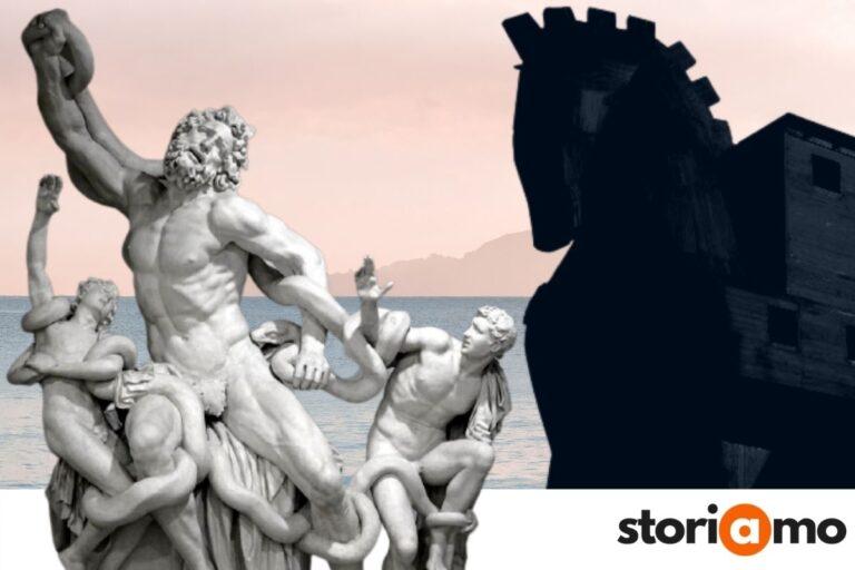 Laocoonte, il cavallo di Troia e il suo avvertimento inascoltato