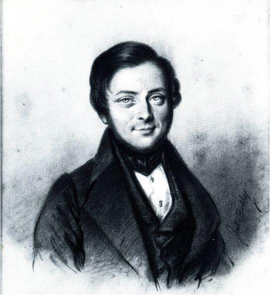 Il giovane Cavour, ritratto di Julien Léopold Boilly