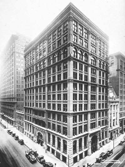L'Home Insurance Building di Chicago