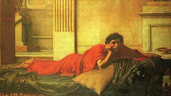 Il rimorso dell'imperatore Nerone dopo l'assassinio di sua madre, John William Waterhouse